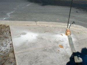 Sidewalk school - Before