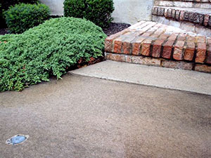 Driveway steps - After