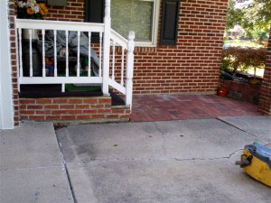 Driveway house - Before