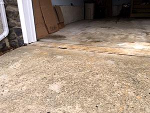 Garage driveway - After